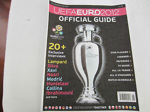 EURO 2012 OFFICIAL TOURNAMENT GUIDE ENGLISH VERSION (PRE-ORDER)