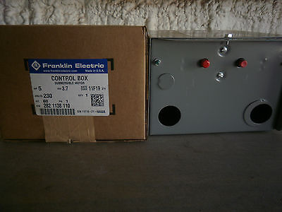 5 Hp Franklin Electric Submersible Motor Control Box