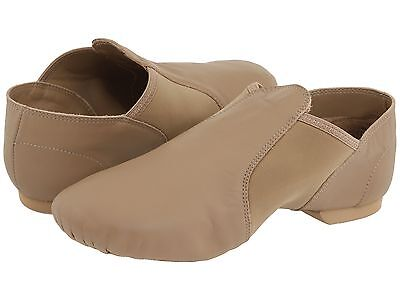 Capezio Jazz/yoga Shoes Tan Leather Adults Size 5 M