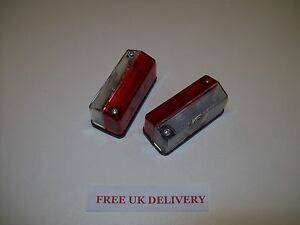 Trailer-Red-White-Side-Marker-Lights-12volt