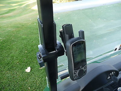 Golf Cart Gps Mount For Skycaddie - Stop Using The Cup Holder
