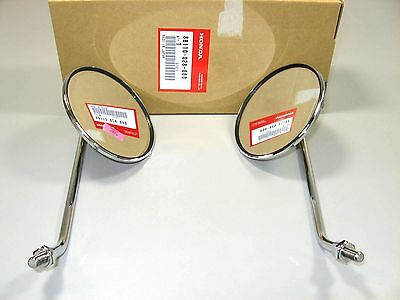 New Genuine Honda Mirrors Set S90 CL90 CL70 CB100 CL100 Left & Right OEM #E66