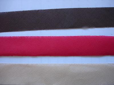 100m Schrägband 0,20€/m in 10 verschiedene Farben  zu je 10 Meter