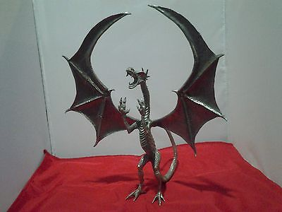 Large lead free pewter winged dragon figurine Z21001