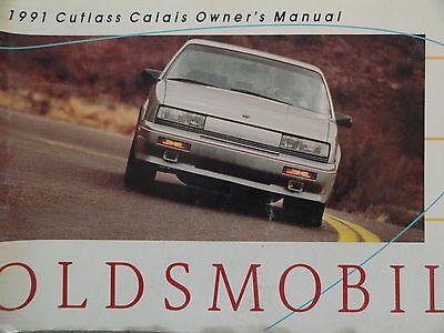 Oldsmobile  Cutlass -Calais  1991    -