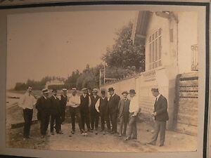 Ancienne photo boulistes jeu de boule lyonnaise vers 1910 for Jeu de boule lyonnaise