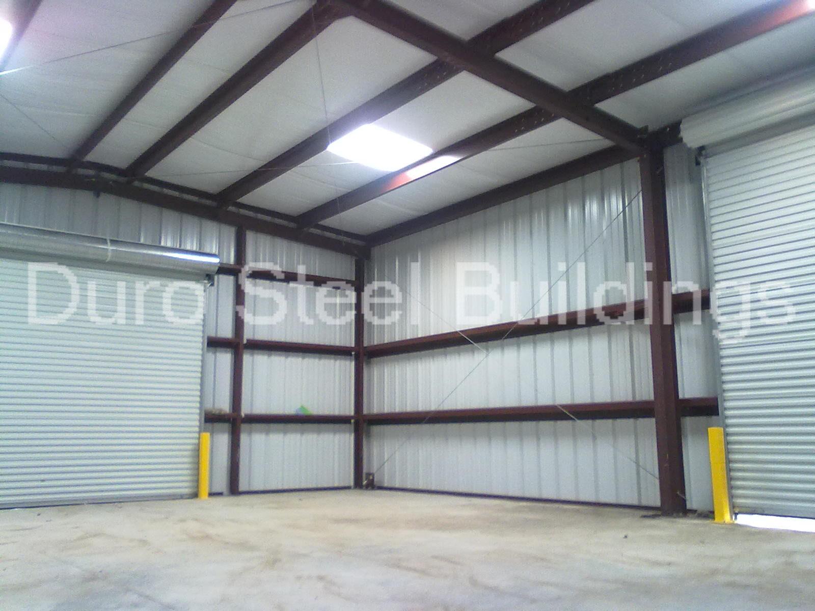 Durobeam steel 40x75x16 metal building kit garage auto for 25 x 40 garage kit