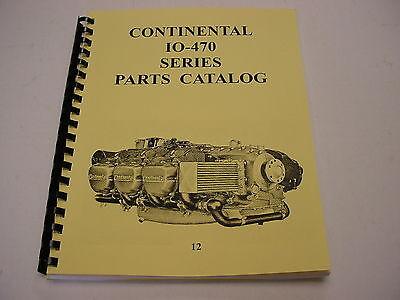 Continental Engines Io-470 Parts Manual -12