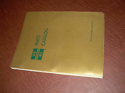Bucyrus-erie Shovel Crane Hoe Excavator Parts Catalog Manual 51b 51 Bucyrus Erie
