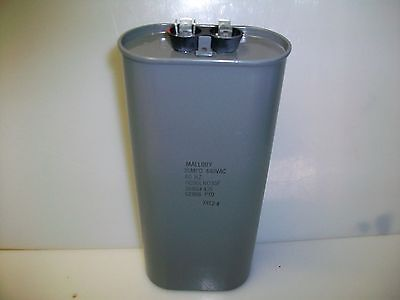 Mallory Oil Filled Capacitor 35 Mfd. 440 V Ac.