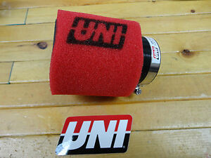 UNI-UNIVERSAL-ANGLED-2-STAGE-POD-AIR-FILTER-FITS-2-1-4-OR-57mm-FREE-SHIPPING