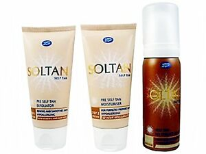 Boots-Soltan-Self-Tanning-Kit-3x50ml-Sunless-Fake-Tan