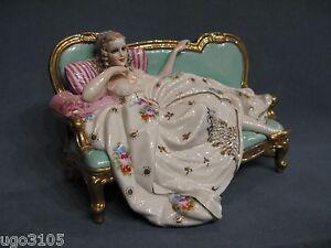 Porcellane fabris elegantissima dama sul divano ebay - Sesso sfrenato sul divano ...