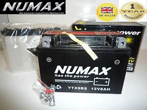 12V 8AH Motorcycle Battery Numax YTX9BS [CTX9BS]