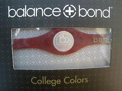 Balance + Bond Bracelet Band College Colors Maroon Gold Minnesota Medium M