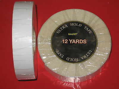 "Walker Ultra hold Tape 1""x 12 YARDS Tape Roll for Lace Wigs ,Toupee. for sale  Shipping to India"