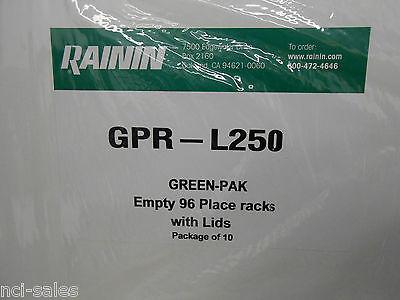 Rainin Gpr-l250-sld Empty 96 Place Racks (10 Racks/cs)