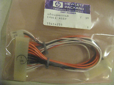 Hewlett Packard Cable Assembly Part 02640-60148 Nsn: 4920-01-108-3319
