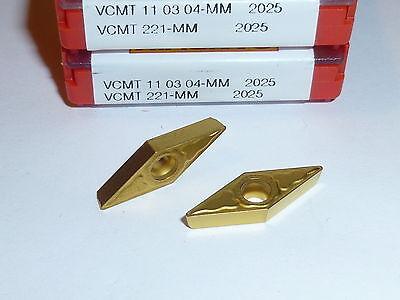 Vcmt 221 Mm 2025 Sandvik 10 Inserts Factory Pack