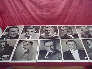 10 antiguo Imágenes de la foto__guarnición la semana de cine__30x22cm__actor
