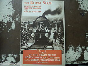 THE-ROYAL-SCOT-London-Midlands-Scotish-Railway-of-Great-Britain-1933-WORLD-FAIR