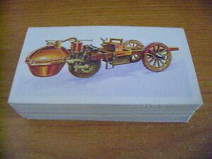 History Of The Motor Car Full Set By Brooke Bond Tea