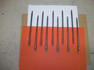 10-enkay 3140 Screw Bits Magnetic 6l Square 2 Robertsons Apex Type