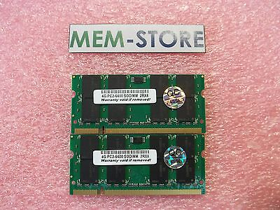 8gb 2x4gb Pc2-6400 Ddr2-800 Memory Dell Precision M2400, Latitude E6400 Upgrade
