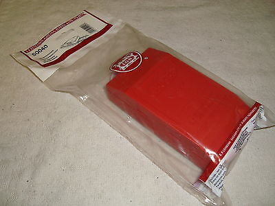LGB 50040 RED ABRASIVE TRACK CLEANING BLOCK BRAND NEW IN BAG!