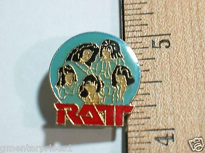 Vintage Ratt Hard Rock Music Group Pin