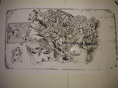 Moto Guzzi Grand Prix 5000cc V-8  Poster