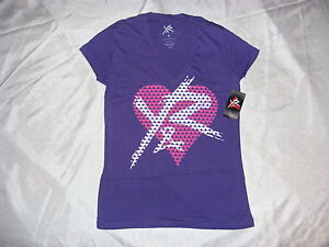 Young and Reckless Women's Purple W/LOGO NWT T-Shirt Size M