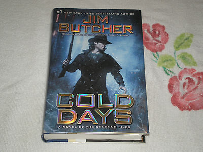 Cold Days By Jim Butcher Signed