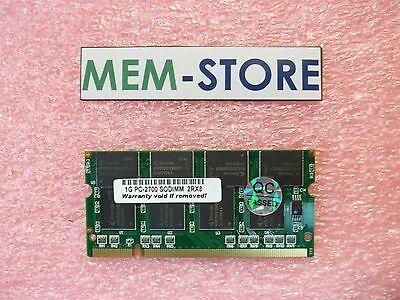 1gb Pc2700 Memory Dell Inspiron 510m 600m 700m 710m