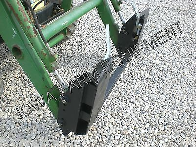 John Deere Pin-On Loader to Skid Steer Quick Attach Adapter:Compact&UtilityFEL's