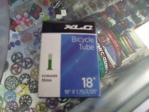 XLC-18-X-1-75-2-125-SCHRADER-VALVE-BICYCLE-TUBE