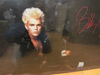 Vintage Billy Idol Rock Poster 10758