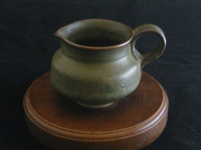 American Artist Wayne Barron Pottery Small Pitcher or Creamer