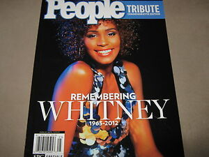 NEW! PEOPLE Tribute REMEMBERING WHITNEY HOUSTON 1963-2012 Commemorative Edition