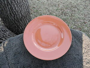 studio 33 burnt orange rimmed smooth dinner plate