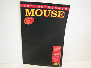 THE-UNCENSORED-MOUSE-COMIC-VOL-1-FIRST-ISSUE