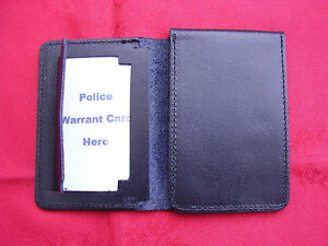 POLICE-SO19-CO19-PCSO-SECURITY-Leather-Warrant-ID-Pass-Card-Badge-Holder-Wallet