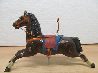 MES-27189 Uraltes Holz/Masse Pferd für Spielzeugkarussell