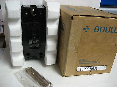 Gould / Ite 15 Amp 3 Pole 240 V. Circuit Breaker Type Etet99568 Ye-06