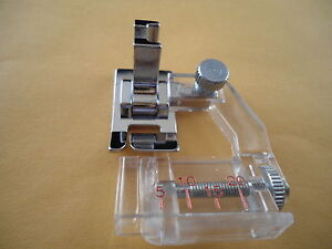 Low Shank Adjustable Bias Binder Foot Brother,Babylock, Singer, Kenmore #6287