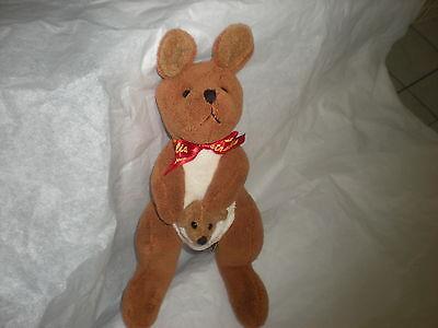 Australia Teddy & Friends Sydney Baby Mom Kangaroo Set Plush