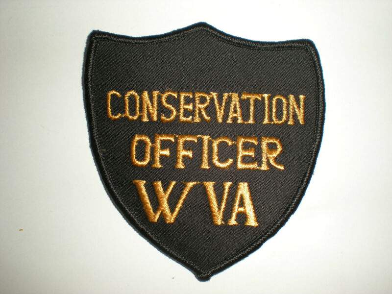 WEST VIRGINIA DEPARTMENT OF NATURAL RESOURCES CONSERVATION OFFICER PATCH