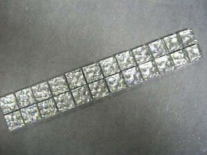 GLASS MOSAIC BORDER TILES - JEWEL SILVER - 8MM THICK