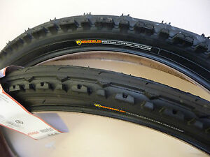 2 X(PAIR OF) 26 X 1.95 KENDA CYCLE/ BIKE TYRES SEMI SLICK PUNCTURE RESISTANT
