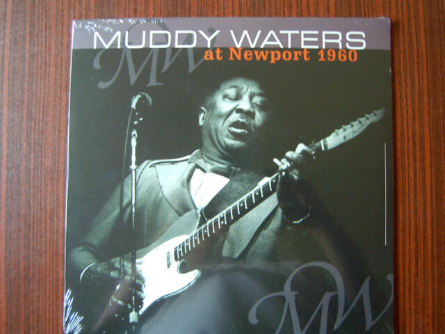 MUDDY WATERS Vinyl LP At Newport -Live 1960 -  NEW-OVP 2012